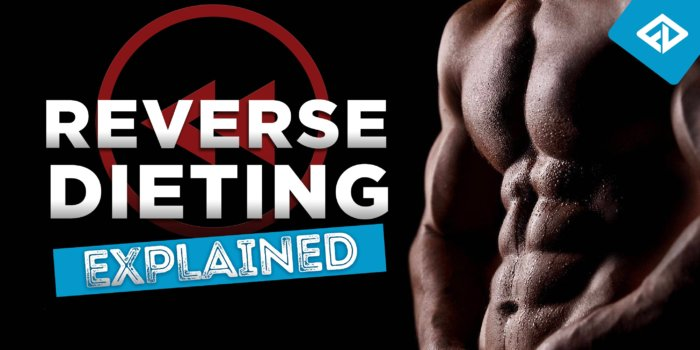 Reverse Dieting Explained