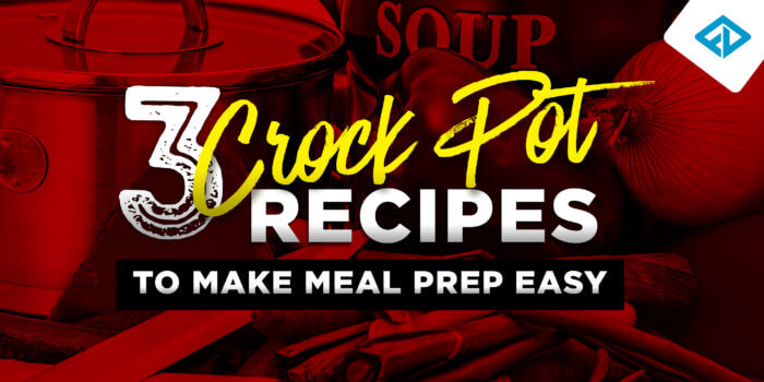 3 Crock Pot Recipes