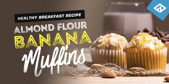 Healthy Breakfast Recipe - Almond Flour Banana Muffins